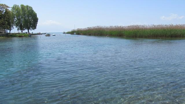 Нивото на Охридското Езеро за 11 сантиметри под просекот за јули